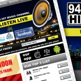 94.7 HITS FM Montreal radio station new website LAUNCHED!
