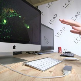 Leap Motion, turn a laptop into a gesture-controlled computer
