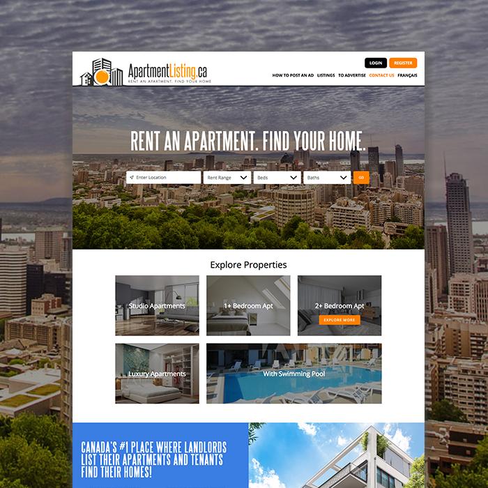 apartment website design. Post Navigation Apartment Website Design