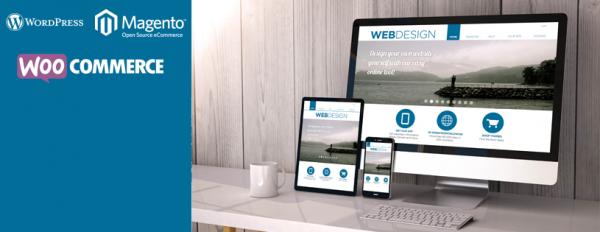 pearl white media web design woocommerce