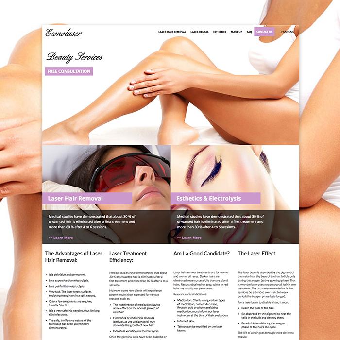WordPress Responsive Website Design