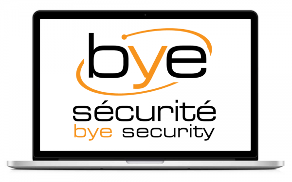 bye securite logo design