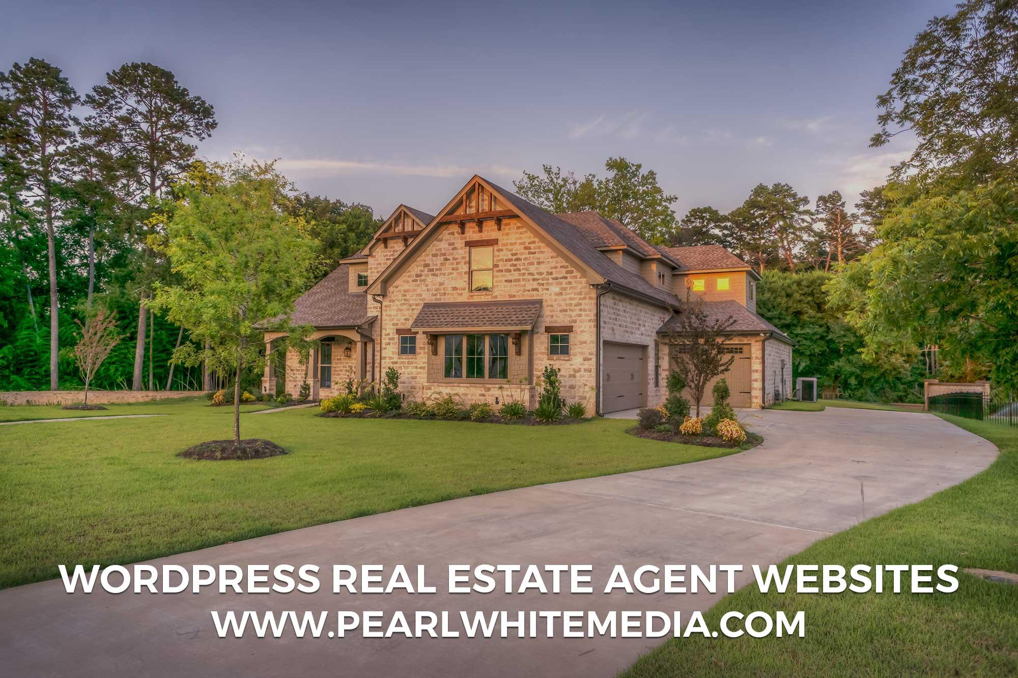 Wordpress real estate agent websites