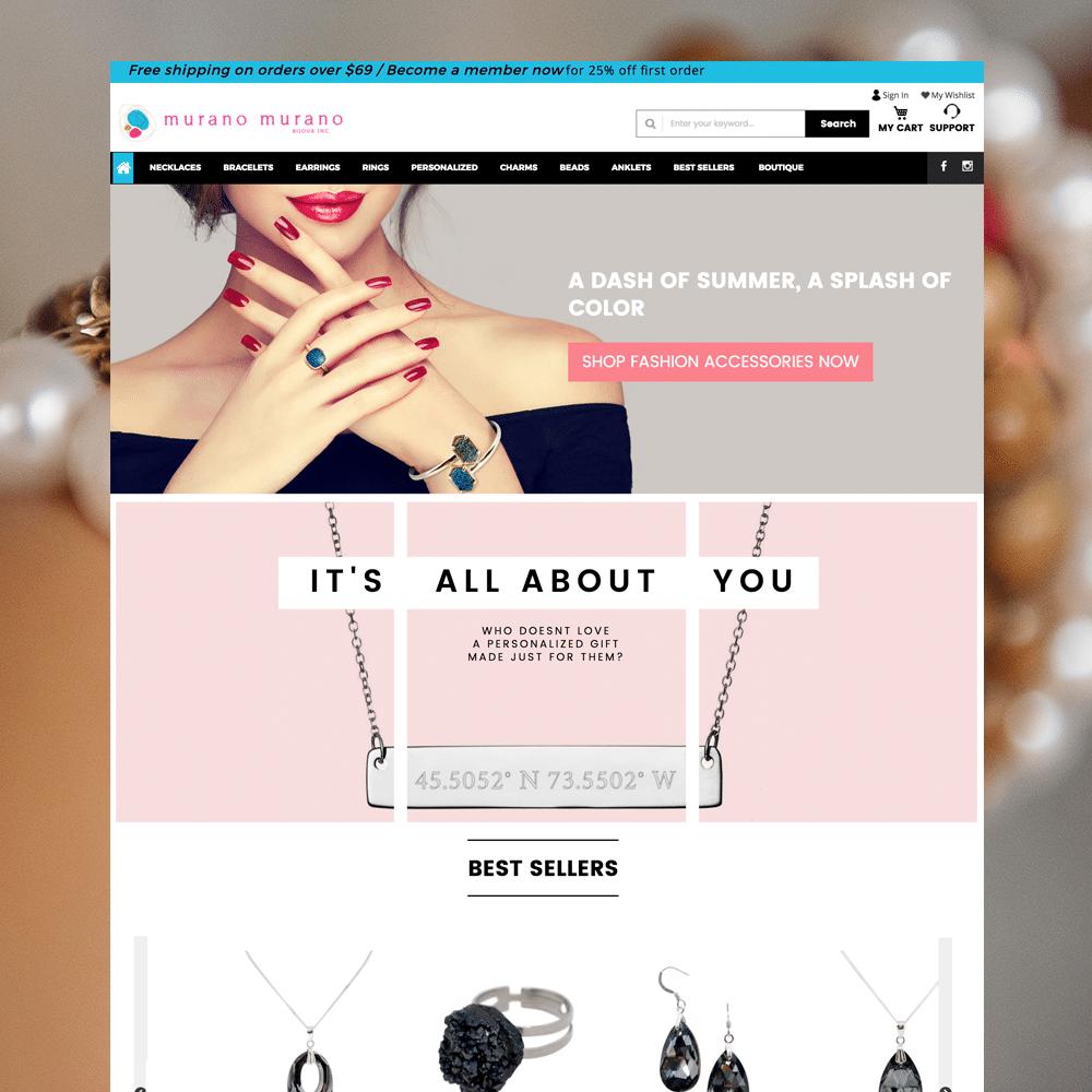 WordPress & WooCommerce Responsive Website