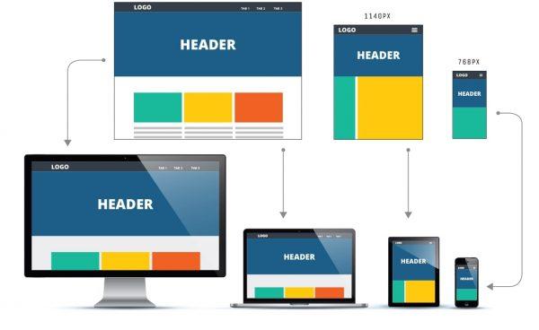 adaptive web design pearl white media