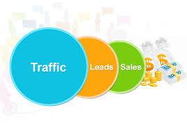 Traffic into Leads and Sales Pearl White Media